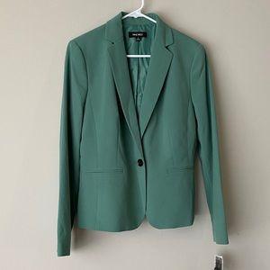 Nine West Green Blazer w Single Button Size 8 NWT